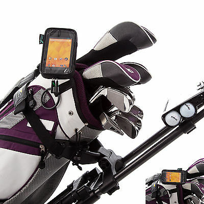 Clip Mount for Golf Bag with Water Resistant Case Holder for LG Google Nexus 4