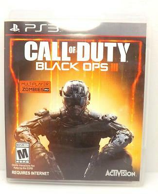 Call of Duty: Black Ops III (Sony PlayStation 3, 2015) PS3 ACTIVISION ~113