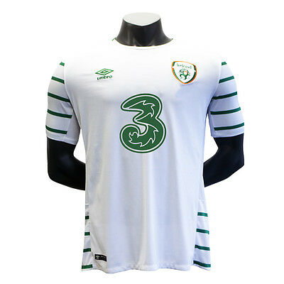 Kids Ireland Soccer Away Short Sleeved Jersey