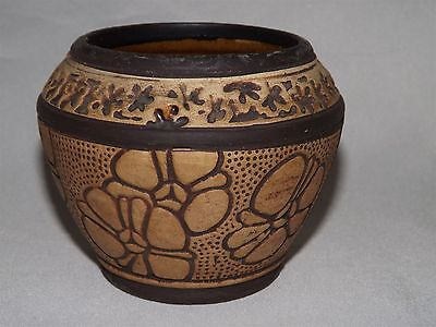 Weller Pottery USA  Claywood Small Bowl / Vase