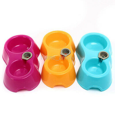 Water Feeder Automatic Water Food Dispenser Dish Bowl For Pets Dog Cat Puppy