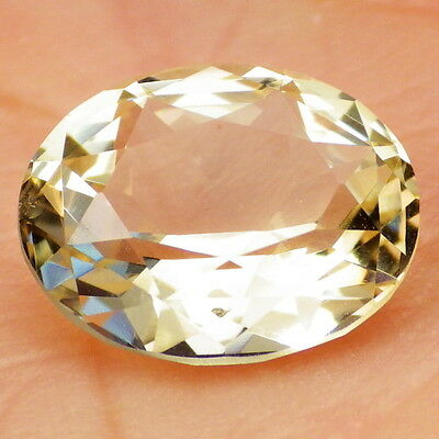 GOLDEN BERYL-BRAZIL 4.21Ct CLARITY VS1-PERFECT CUT BY IAN-TOP COLLECTOR GRADE!