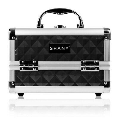 SHANY Mini Makeup Train Case With Mirror