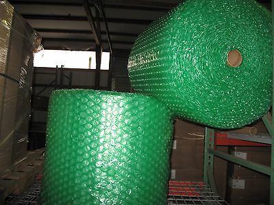"""Large 1/2"""" Green Recycled Bubble, 24"""" x 250' Per Order - SHIPS FREE!"""