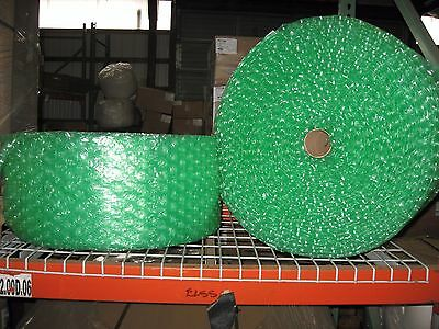 """Large Green Recycled 1/2"""" Bubble, 12"""" x 250' Per Roll - SHIPS FREE"""