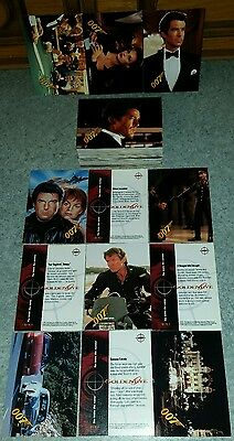 "Complete Set ( 90 ) Vintage 1995 James Bond ""Goldeneye"" Graffiti Trading Cards."