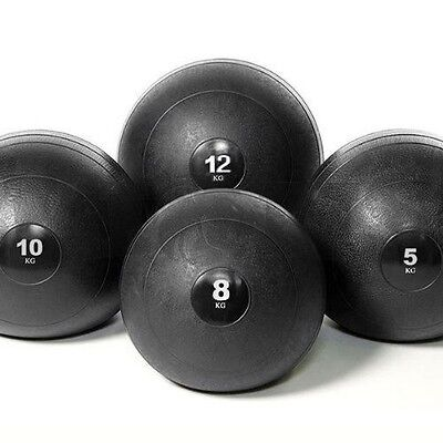 8kg/10kg/12kg Medicine Slam Rubber Balls Bootcamp MMA Fitness Strength Training