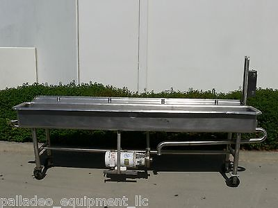 Stainless Steel COP Clean Out Of Place Tank with Tri Clover Centrifugal Pump