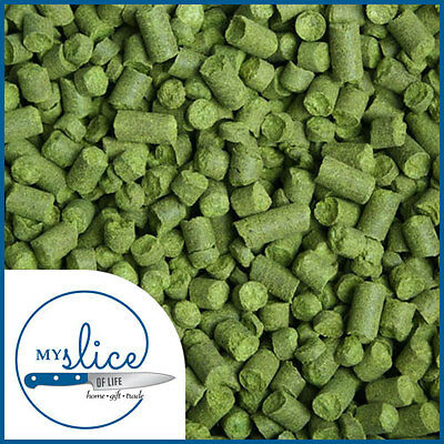 US Cascade Hop Pellets 2017 - Available in 40g, 100g & 500g - Home Brew / Hops