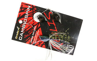 Duo Realis Cambi Spin Spinnerbait Double Blade 3/8 oz J010 (4265)