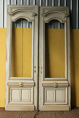 Antique French Entrance Doors. Huge, 3 Metres High.