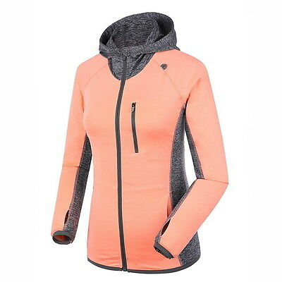Women Sport Jackets Running Coat Quick-dry Long-sleeved Gym Hoodies Fitness Tops