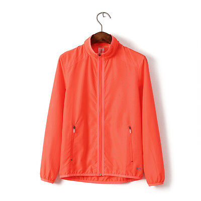 UV protection Jacket Layer Urltra-Light Women Outdoor Clothing Running Tops