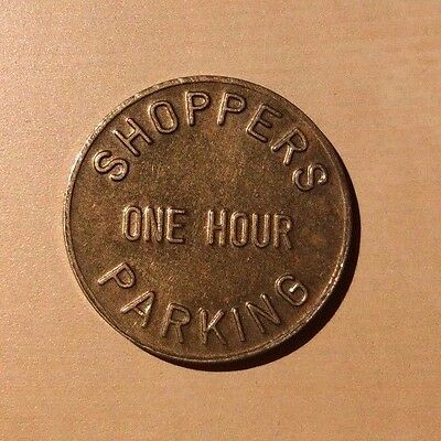 Shoppers Parking One Hour UDPA University District Parking Associates Token