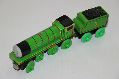 Thomas The Tank Engine Wooden Railway Train HENRY with TENDER