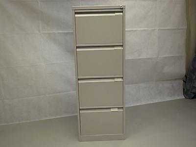 Lockable 4 Drawer Filing Cabinets Grey Various Brands Available