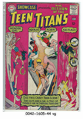 Showcase #59, The Return of the Teen Titans © December 1965 DC Comics