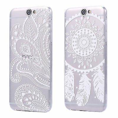 HTC One A9 ULTRA THIN CLEAR TPU GEL CASE COVER TRANSPARENT CLEAR DREAMCATCHER