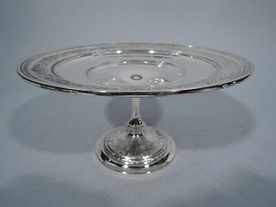 International Wedgwood Compote - T41 - Antique Bowl - American Sterling Silver