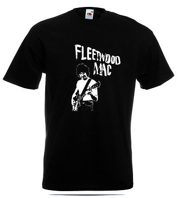 Peter Green Fleetwood Mac T Shirt Danny Kirwan John McVie Green Manalishi