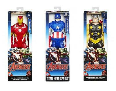 "Marvel Avengers 12"" Inch Action Figure (Captain America/Iron Man/Thor) **NEW**"