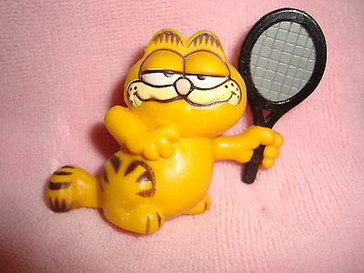 "Garfield Vintage 1981 Tennis Player 2"" PVC"
