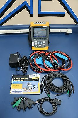 Fluke 435 Three Phase Power Analyzer with Enhanced Logging and 4x3kA Flex CT's