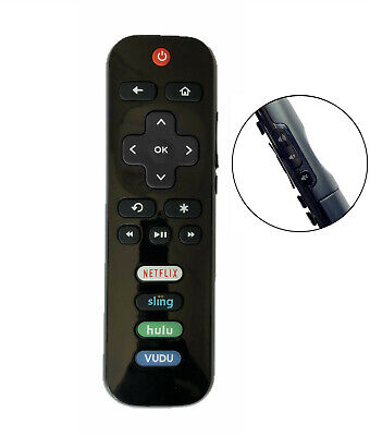 New USBRMT Replaced TCL ROKU TV Remote RC280-04 Hulu Vudu 55US5800 65US5800