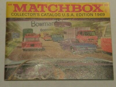 Matchbox Collectors Catalog 1969 USA Edition Booklet Magazine
