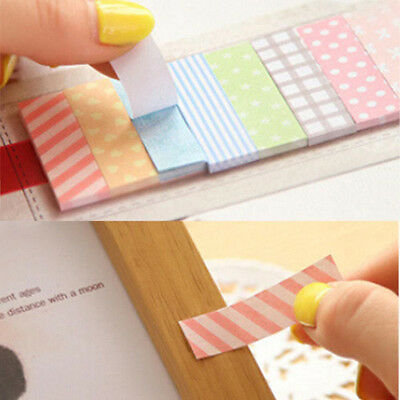 160 Pages Sticker Post It Flags Bookmark Point Marker Diary Notepad Sticky Notes