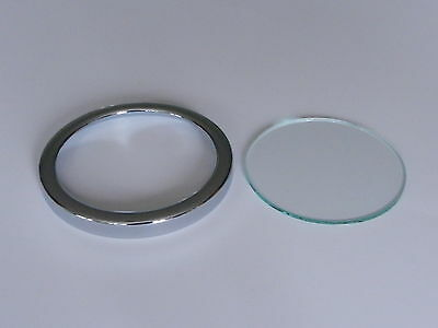 Smiths Speedometer Bezel & Glass fits 60mm diameter SN Series