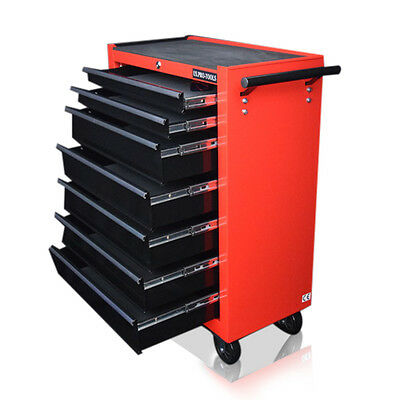 348 Us Pro Tools Affordable Steel Chest Tool Box Roller Cabinet 7 Drawers