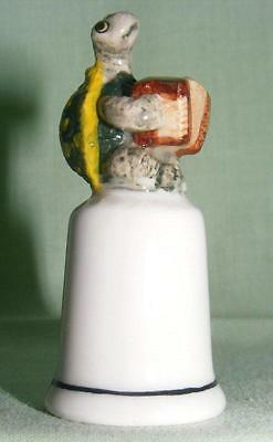 Klima Miniature Porcelain Turtle with Concertina Thimble K835