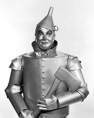 """Jack Haley As """"Tin Man"""" In """"The Wizard Of Oz"""" - 8X10 Publicity Photo (Bb-813)"""
