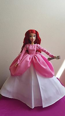 Ariel Pink Dress For 17 Singing Doll Disney Store Or Limited Edition 39 00 Picclick