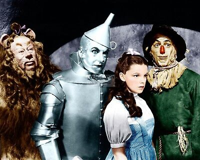 """""""The Wizard Of Oz"""" Cast From The Film - 8X10 Publicity Photo (Bb-820)"""
