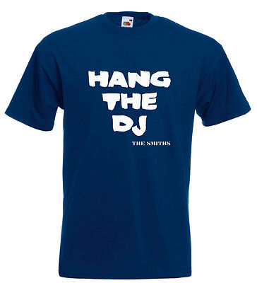 The Smiths Morrissey T Shirt Hang The DJ Johnny Marr Mike Joyce Andy Rourke