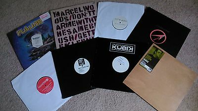 "8 x 12"" Vinyl Records Job Lot Collection TRANCE & PROGRESSIVE HOUSE"