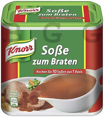 Knorr Germany - Sauce for roast - 2,75 Liter Gravy - German Production
