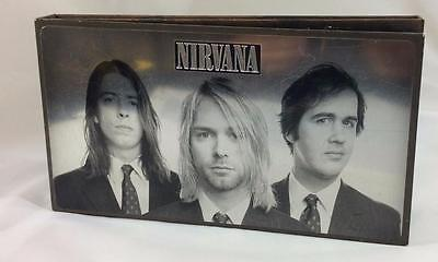 Vintage Nirvana 4 Disc Set DVD CD With The Lights Out Box Kurt Cobain Grunge