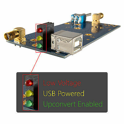 Ham It Up v1.3 RF Upconverter For RTL-SDR, HackRF, Funcube HF Up Converter R820T