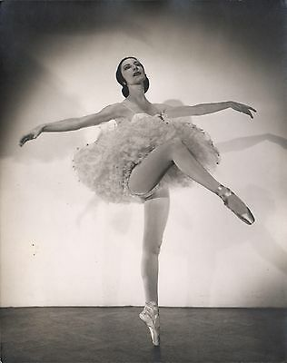 ALICIA MARKOVA - British Dancer - Original Vintage Photograph by HOUSTON ROGERS