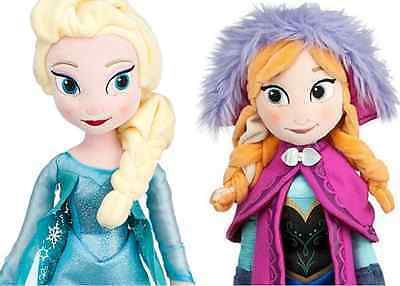 AU Stock- New 50cm Disney Frozen Elsa & Anna Soft Plush Doll Stuffed Toy