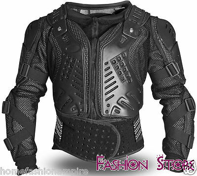 Motorcycle Black Brand New Protector Body Armour Back Spine Protection Protector