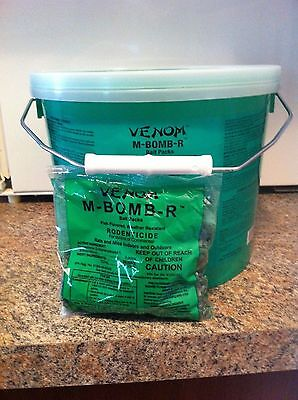 M-Bomb-R poison pellets kill rats roof rats mice mouse vole rodent killer 4 lbs
