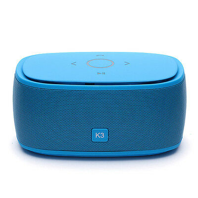 K3 Bluetooth Speaker true wireless stereo 1200MAH Portable iPhone AUX TF Samsung