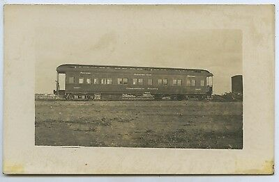 1918 Rp Postcard Tarcoola Commonwealth Railways Sleeping Car 2Nd. Class O92.