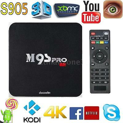 Docooler M9S-PRO S905 Android5.1 TV Box 2G/16G Quad Core H.265 4K Miracast