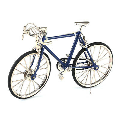 Diecast Model Collections 1:10 Racing Bike Bicycle Replica Toy Blue/Black/Red