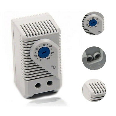 KTS011 0-60℃ Compact Mechanical Thermostat Normally Open Temperature Controller